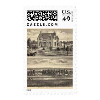 Morrison and Greenamyre, Nebraska Postage