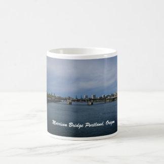 Morrison Bridge Portland, Oregon Coffee Mug