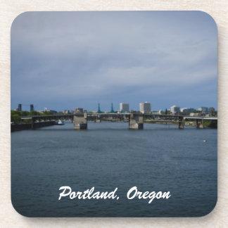 Morrison Bridge Portland, Oregon Beverage Coaster