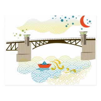 Morrison Bridge Portland Postcard