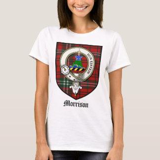 Morrison Clan Crest Badge Tartan T-Shirt