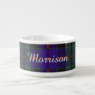 Morrison clan Plaid Scottish tartan Bowl