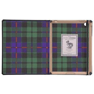 Morrison clan Plaid Scottish tartan Cover For iPad
