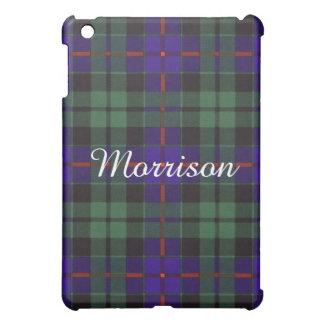 Morrison clan Plaid Scottish tartan iPad Mini Cover