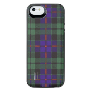 Morrison clan Plaid Scottish tartan Uncommon Power Gallery™ iPhone 5 Battery Case
