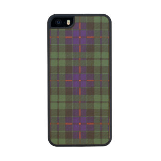 Morrison clan Plaid Scottish tartan Carved® Maple iPhone 5 Case
