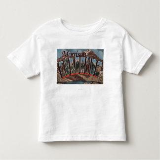Morrison, Colorado - escenas grandes de la letra T-shirts