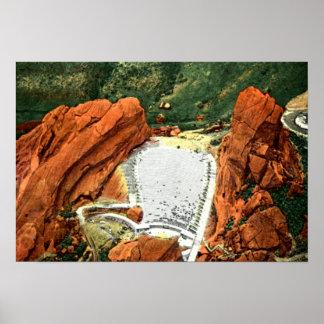 Morrison Colorado Red Rocks Amphitheatre Poster