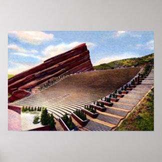 Morrison Colorado Red Rocks Amphitheatre Print