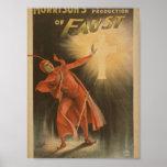 """Morrison de Fausto, """""""" el teatro cruzado del vinta Poster"""