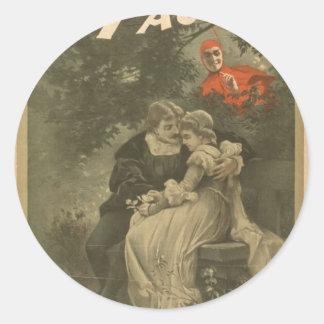 Morrison de Fausto, 'Fausto y Marguerite Pegatina