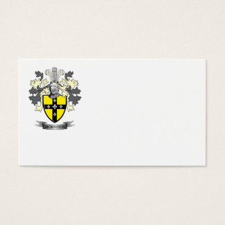 Morrison Family Crest Coat of Arms Business Card