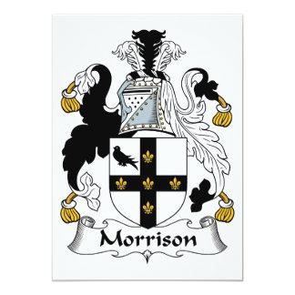 Morrison Family Crest Invitations