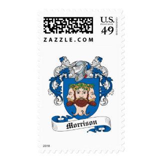 Morrison Family Crest Stamps