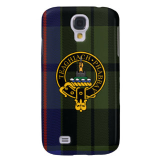 Morrison Scottish Crest and Tartan Samsung Phone Samsung Galaxy S4 Cover