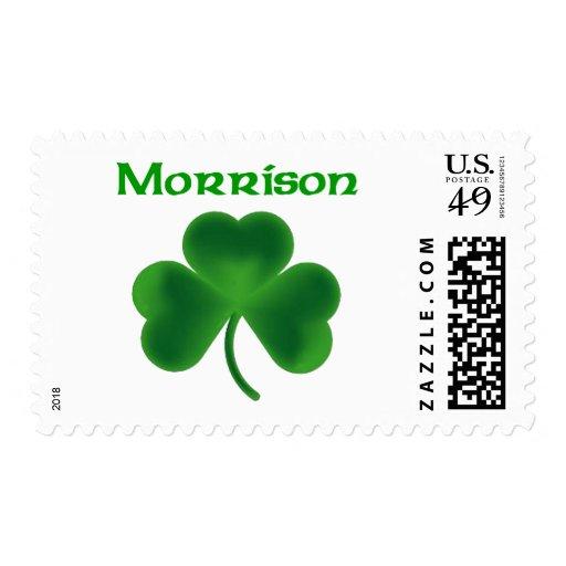 Morrison Shamrock Postage Stamp
