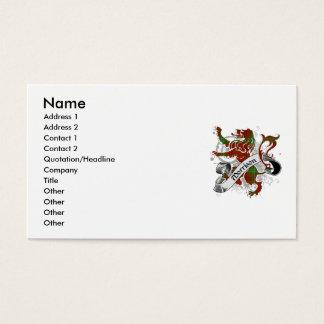 Morrison Tartan Lion Business Card