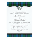 Morrison Tartan Plaid & Thistle Wedding Invitation
