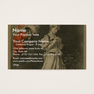 Morrison's of Faust Business Card