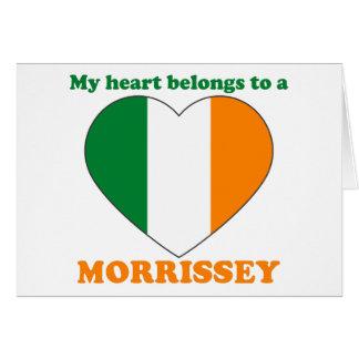 Morrissey Card