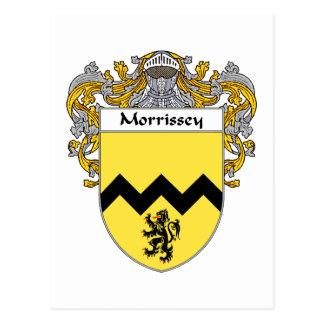 Morrissey Coat of Arms (Mantled) Postcard