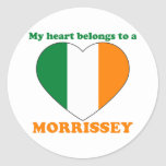 Morrissey Pegatina Redonda