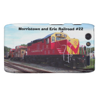 Morristown and Erie Railroad Engine #22 Droid RAZR Cover