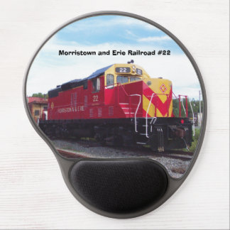 Morristown and Erie Railroad Engine #22 Gel Gel Mouse Pads