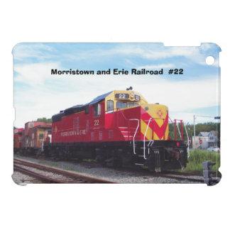 Morristown and Erie Railroad Engine #22 iPad Mini Covers
