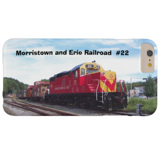 Morristown and Erie Railroad Engine #22 iphone 6 Barely There iPhone 6 Plus Case
