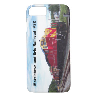 Morristown and Erie Railroad Engine #22 iPhone 7 iPhone 7 Case
