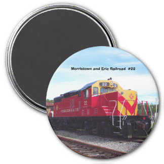 Morristown and Erie Railroad Engine #22 Magnet