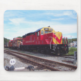 Morristown and Erie Railroad Engine # 22 Mouse Pad