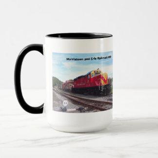 Morristown and Erie Railroad Engine #22 Mug