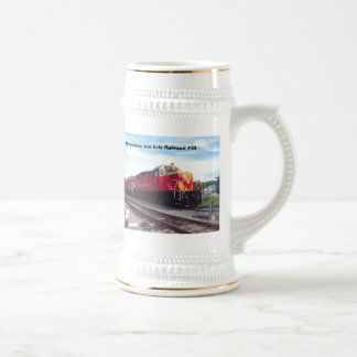 Morristown and Erie Railroad Engine #22 Stein