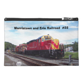 Morristown and Erie Railroad Engine #22 Travel Bag