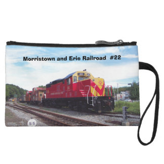 Morristown and Erie Railroad Engine #22 Wristlet