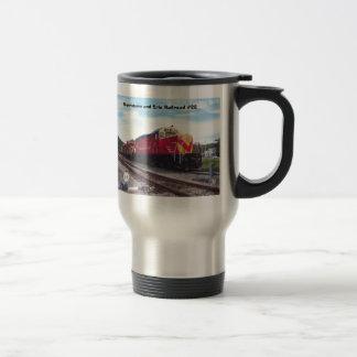 Morristown y Erie Railroad la taza de café del