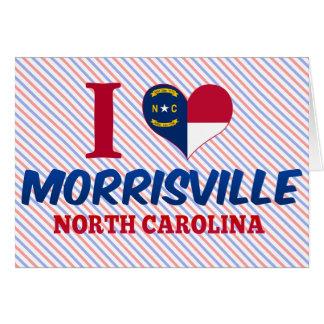 Morrisville, Carolina del Norte Tarjeta De Felicitación