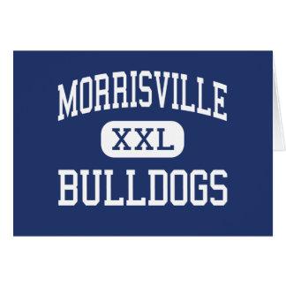 Morrisville - dogos - centro - Morrisville Tarjeta De Felicitación