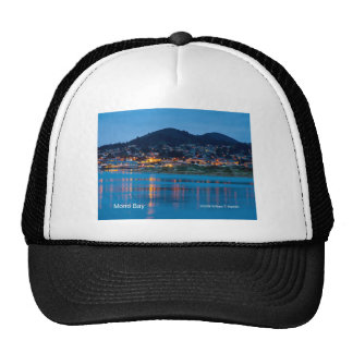 Morro Bay After Dark California Products Trucker Hat