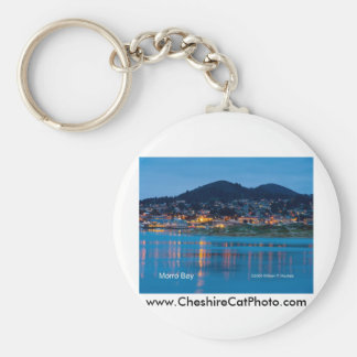 Morro Bay After Dark California Products Keychain