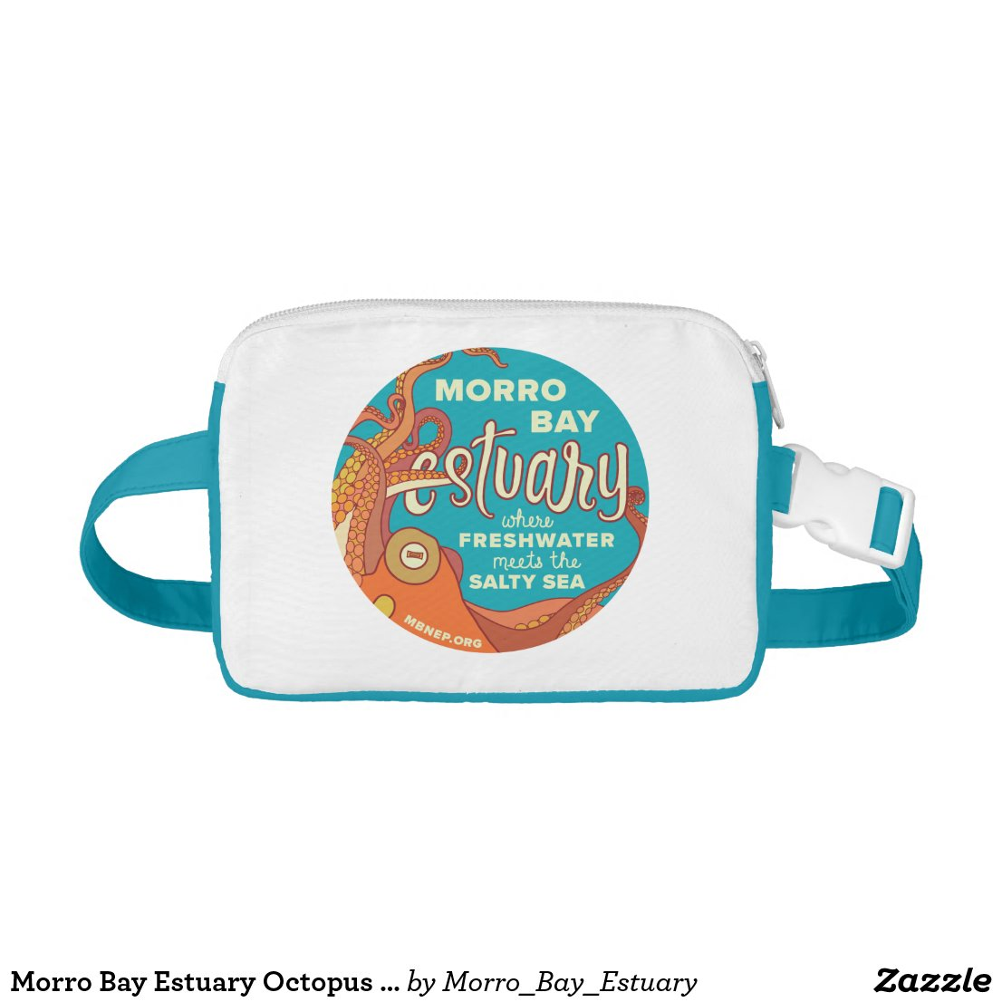 Morro Bay Estuary Octopus Fanny Pack