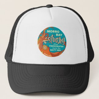 Morro Bay Estuary Octopus Trucker Hat