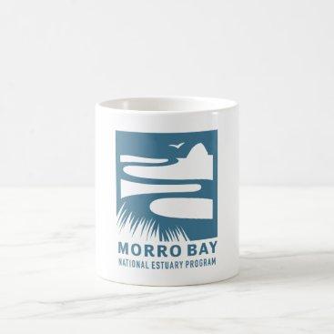 Beach Themed Morro Bay National Estuary Program Logo Mug