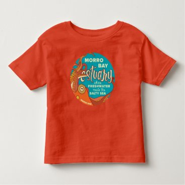 Beach Themed Morro Bay Octopus Shirt for Toddlers