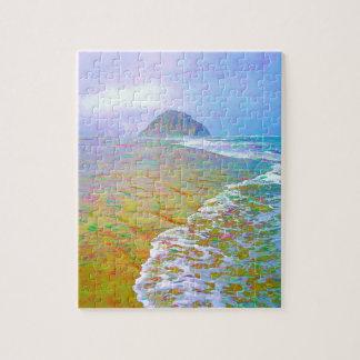 Morro Bay Painting Jigsaw Puzzles