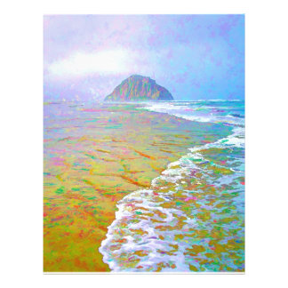 Morro Bay Painting Letterhead Template
