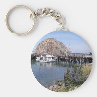 Morro Bay Photo Keychain