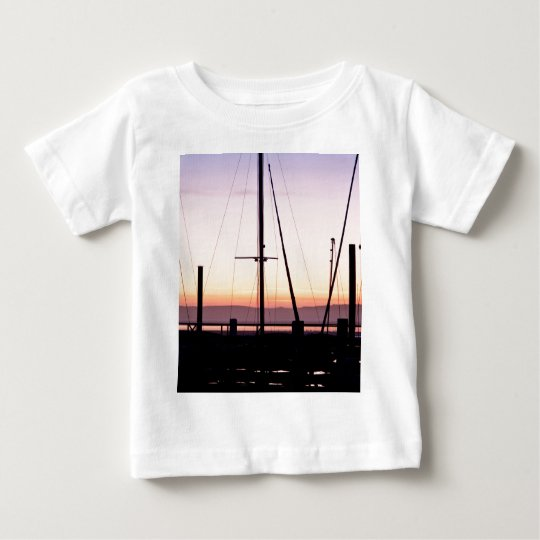 Morro Bay Sunset Baby T-Shirt